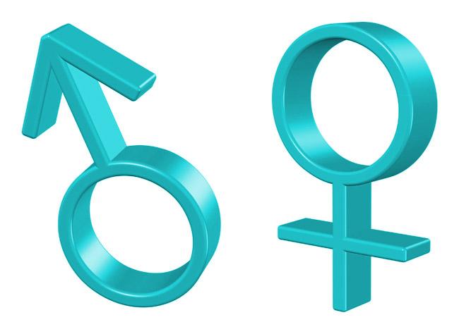 картинка женский и мужской пол двух управлений создано